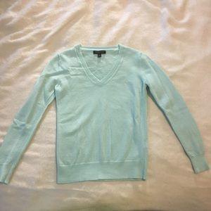 Soft Turquoise Merino Wool Sweater